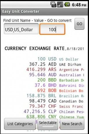 Exchange Rate Converter By Date
