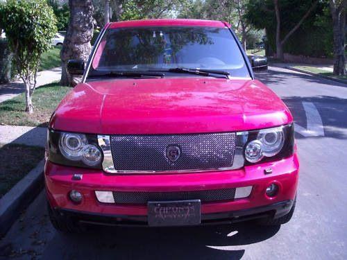 Lala's custom Range Rover