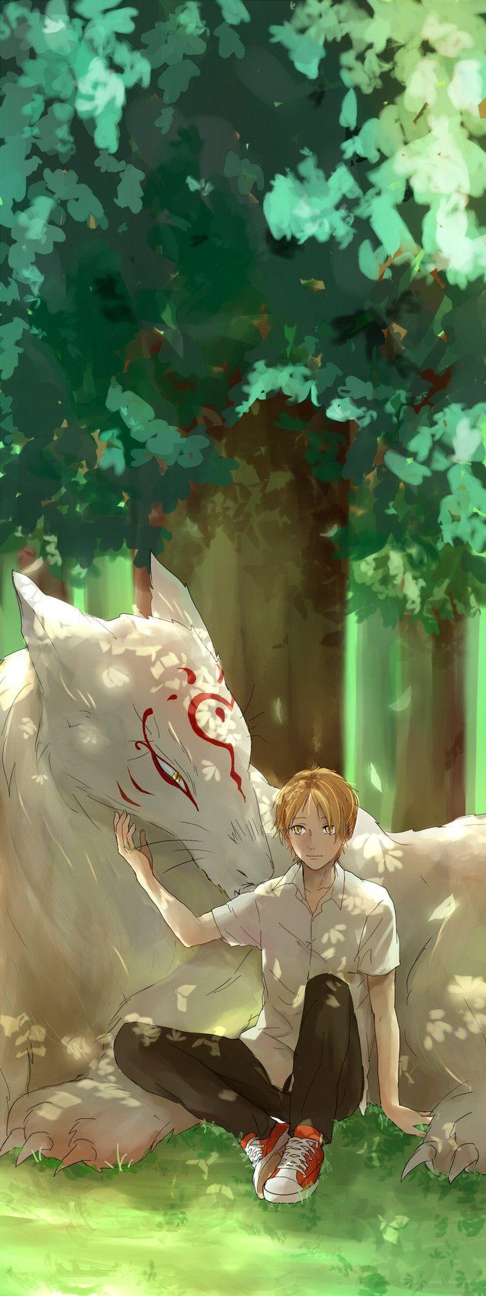 Natsume and Madara.