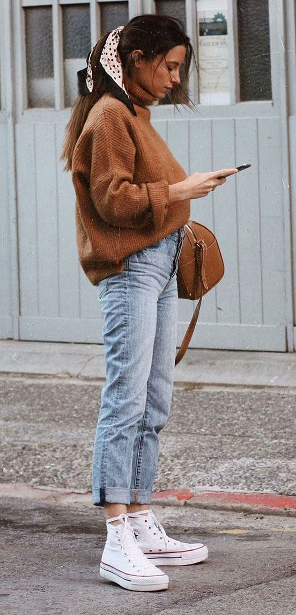 It-Girl – Trikot-Mom-Jeans – Mom-Jeans – Inverno – Streetstyle