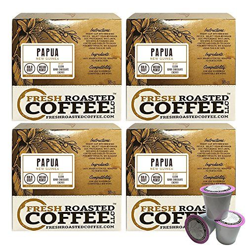 Fresh Roasted Coffee Papua New Guinea Single Serve Cups – 72 Count *** You can get additional details at the image link.