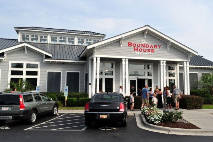 Boundary House Restaurant Calabash Nc