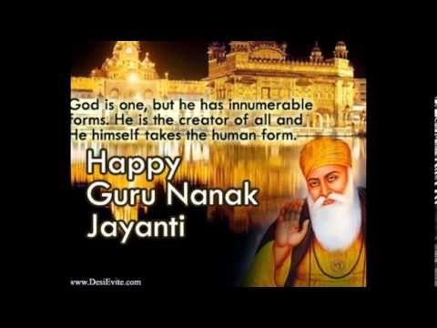 Happy Guru Nanak Jayanti Greetings card For more Greetings card please visit http://www.desievite.com