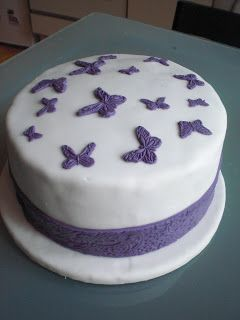 Kleine Schmetterlings-Torte