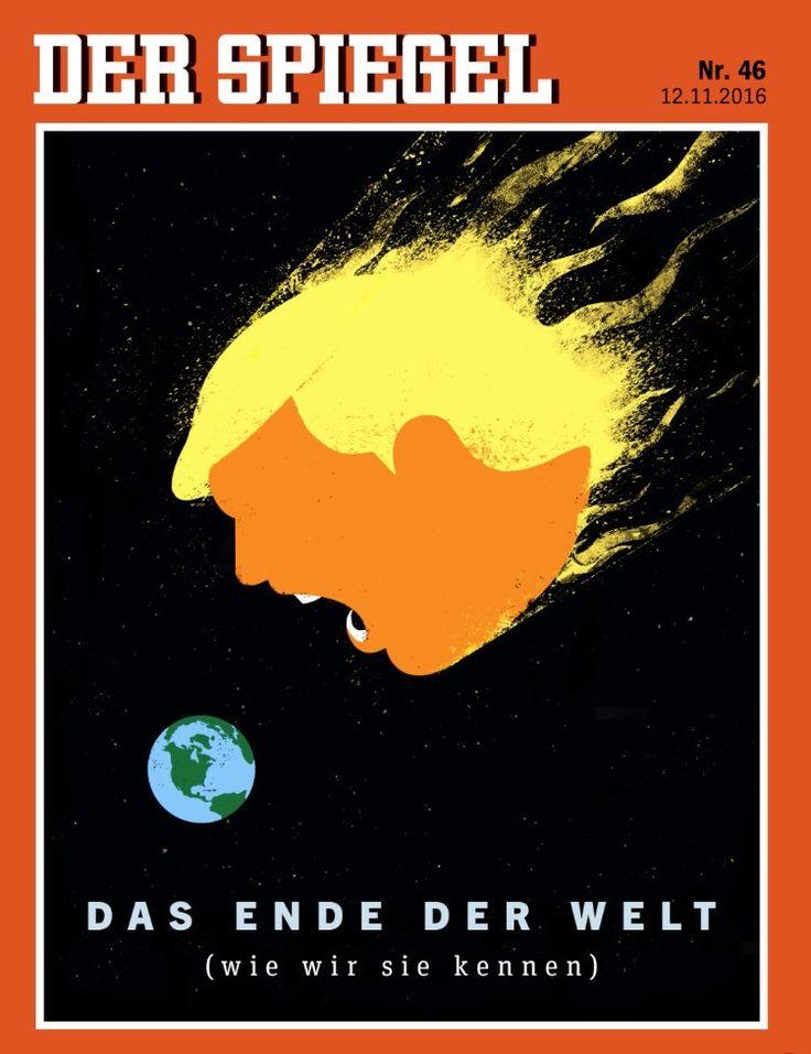 Twee weken president Trump in tijdschriftcovers - NRC
