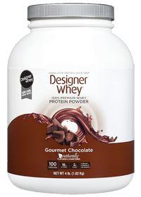 Designer Whey                       Designer Whey Gourmet Chocolate, 4.0 Pound , Powder #vitaminshoppecontest