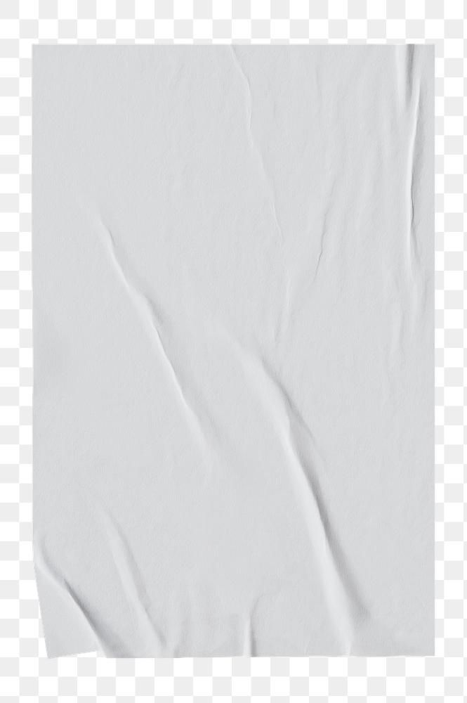 Download Premium Png Of White Crinkled Paper Design Element 2430994 Paper Background Texture Texture Graphic Design Design Element