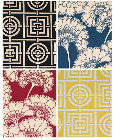 wallpaper designs by Florence Broadhurst