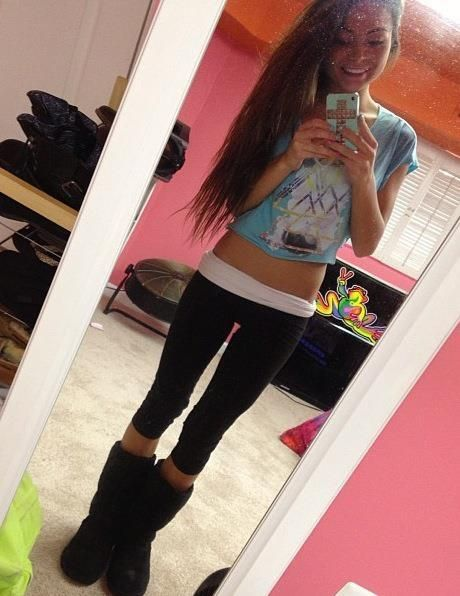 from Emerson girls in sweatpants free xx pictures