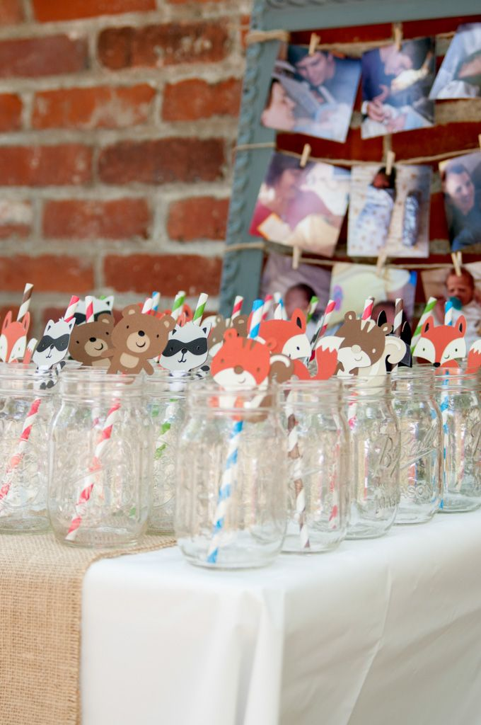Drinks for everyone! Leave out markers for the guests to write their names on the back of the animal tags!