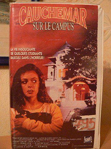 """RUSH WEEK"", US production, 1989, starring Pamela Ludwig (""Race for Glory"", ""Pale Blood"") and Gregg Allman as ""Cosmo"", known as ""Cauchemar sur le campus"" in EU France (by a pre Murdoch Fox Video (formerly CBS/Fox), PAL/SECAM VHS) #afbeeldingen #indie #arthouse #filmfest #filmmarket #art #Zentropa #elokuvat #Trier #Macron #Mitterand #grauen #exploitation #Nostalgie #EU27 #Brexit #kunst #Pamplona #todocoleccion #Sims2 #viikatemies #Birkin #Gainsbourg #ANNA #Karina #Rose #McGowan #Winona #Ryder"