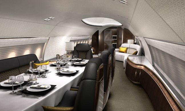 Private Jet Interiors Private Jet Interior Airplane Interior Design