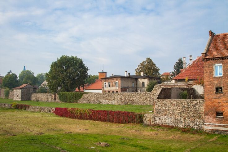 Kożuchów — medieval town with city walls. Travel to western Poland