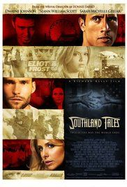 Southland Tales (2006) During a three day heat wave just before a huge 4th of July celebration, an action star stricken with amnesia meets up with a porn star who is developing her own reality TV project, and a policeman who holds the key to a vast conspiracy.