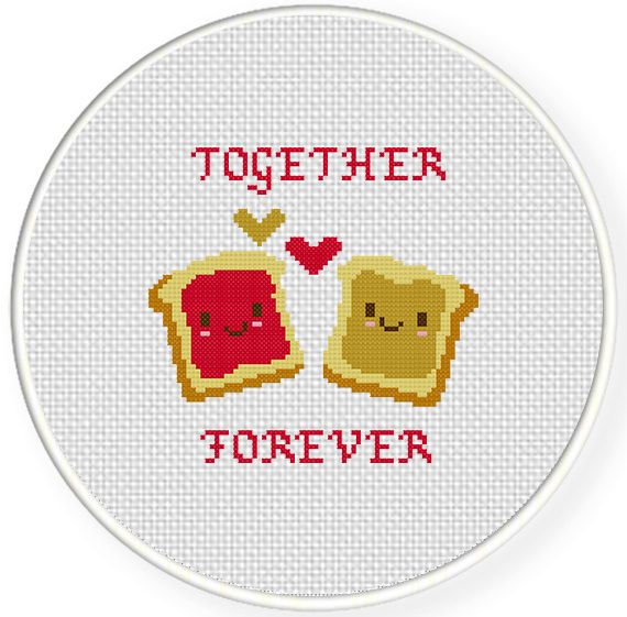 FREE for March 5th 2014 Only - Together Forever Cross Stitch Pattern
