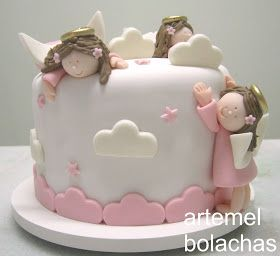 231 best Angel Cakes images on Pinterest Angel cake Cake designs
