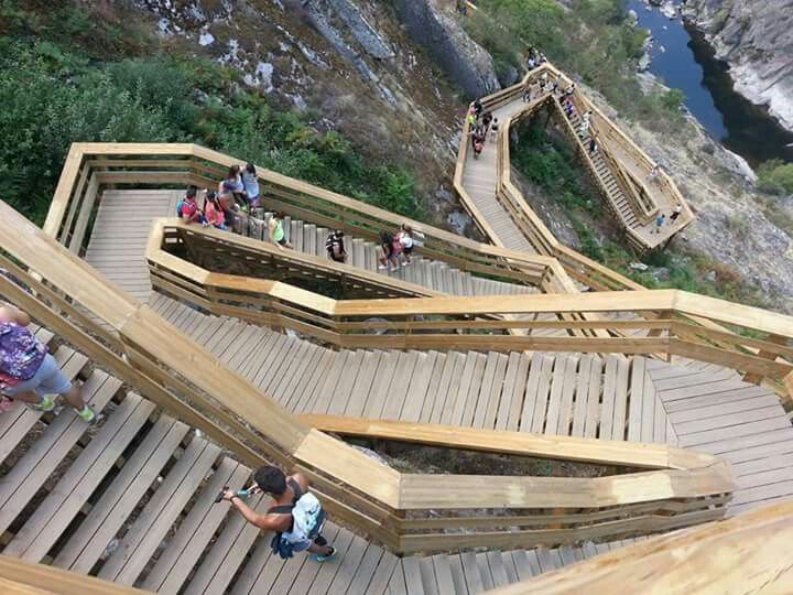 Passadiços do Paiva. Geopark. Arouca Portugal