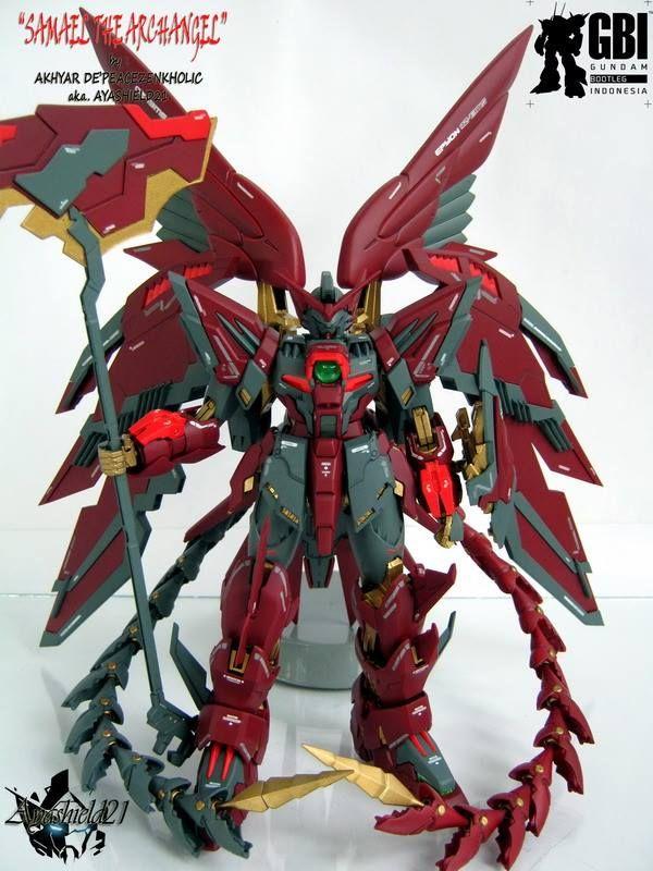 Epyon Custom  U0026 39 Samael The Archangel U0026 39  By Ayashield21