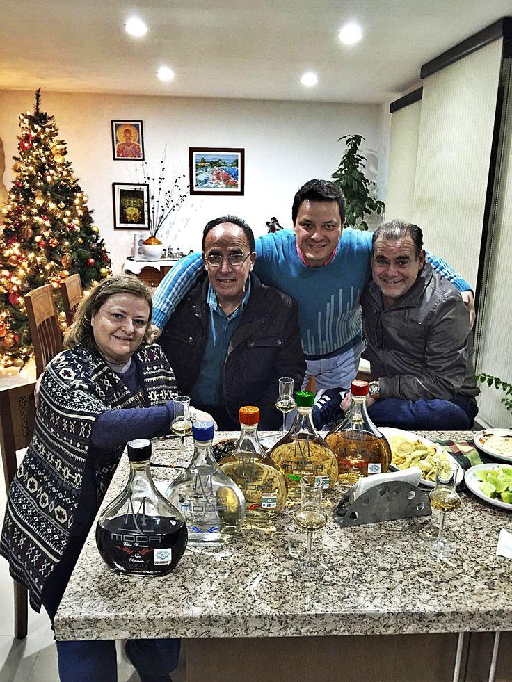 Now the whole family of MODA Tequila, Silver, Black Reposado, Reposado, Añejo and Extra-Añejo, first tasting January 2016