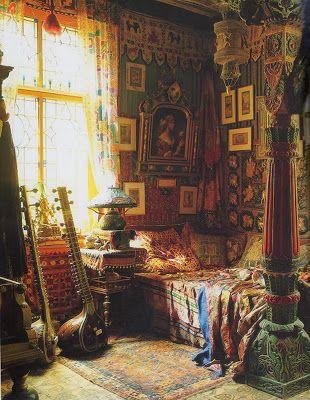 BoHo / Bohemian inredning & ditt-o-datt...: Kan man blanda stilar, färger och mönster i inredning - Ja definitivt...