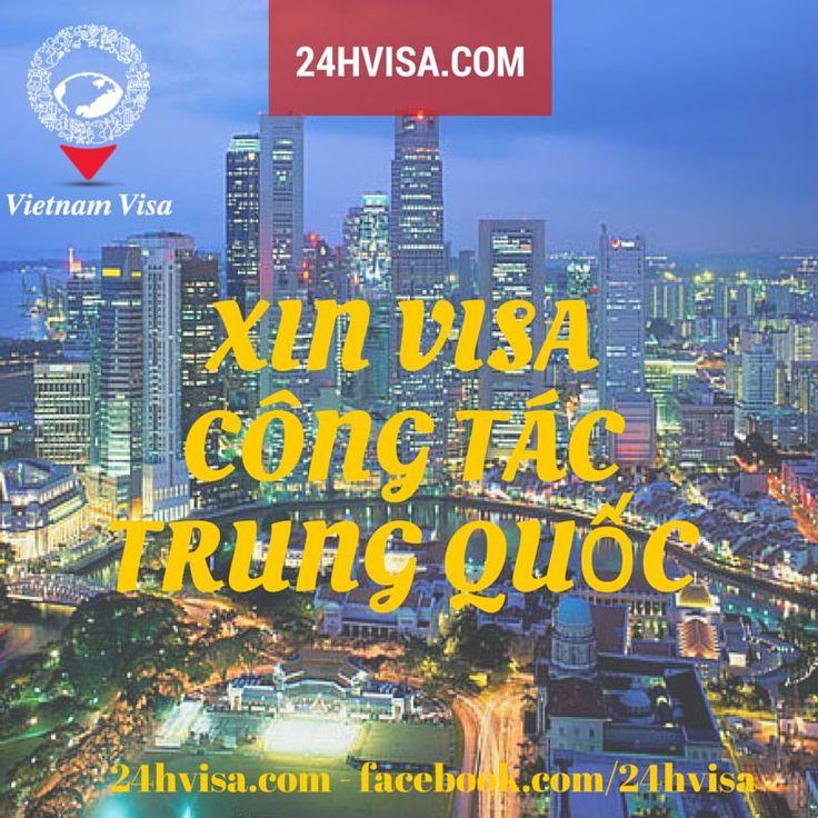 Việt Nam không những thu hút sự quan tâm đầu tư từ các doanh nghiệp Trung Quốc và ngược lại. Ngày càng nhiều doanh nghiệp Việt Nam phát triển các mặt hàng chủ lực có nhu cầu cao ở thị trường này. Nếu bạn đang làm việc ở những doanh nghiệp có đầu tư vào Trung Quốc thì chắc chắn sẽ thường xuyên đi công tác sang nước bạn. Một trong những công việc đầu tiên cần chuẩn bị đó là làm visa cho chuyến đi.  CÔNG TY TNHH DỊCH VỤ THỊ THỰC 24h VIETNAM VISA 13 Thái Văn Lung, Phường Bến Nghé, Quận 1, Tp. Hồ…