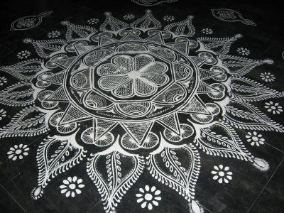 Kolam 06; India