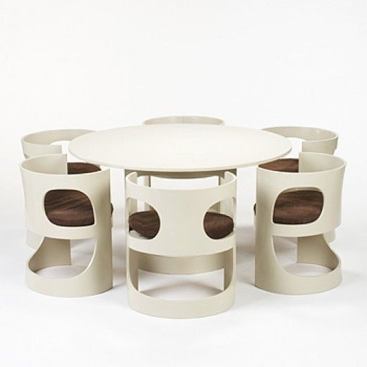Arne Jacobsen, Dining Suite for Asko,