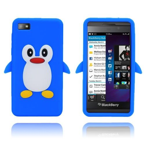 Penguin (Blue) Blackberry Z10 Cover