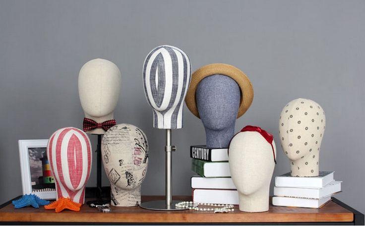 A melhor Qualidade Da Moda Nova Cabeça de Manequim Manequim de Fibra de vidro Para Óculos De Sol & Chapéu Para Exibição(China)