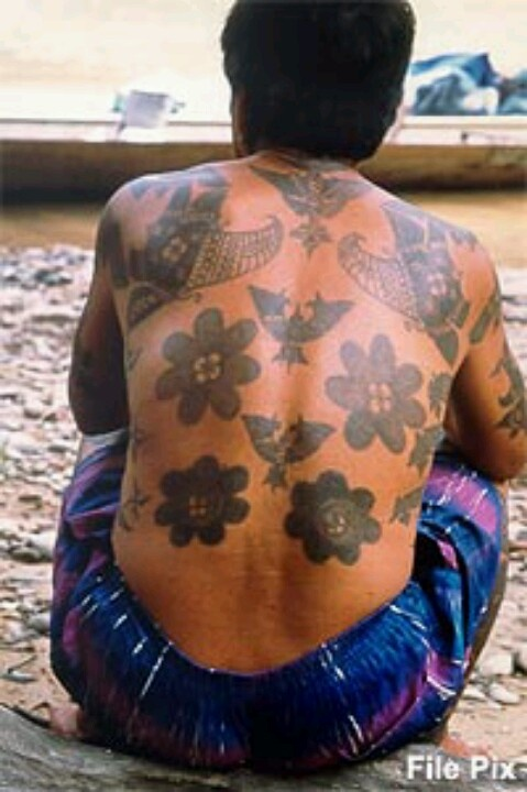 Sarawak's Tribal Tattoos Have An Ancient History Not Many Know Of Today