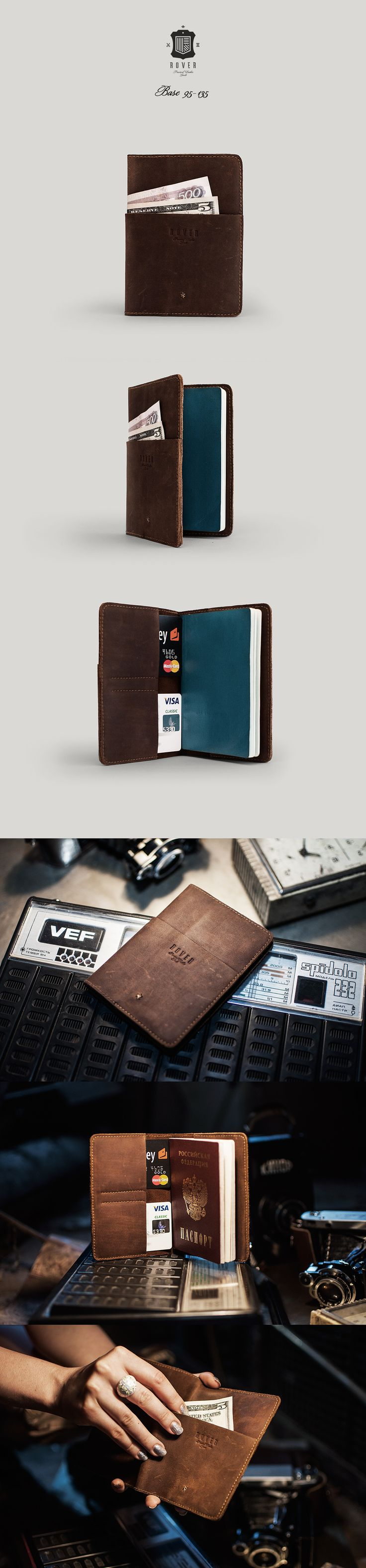 ROVER Base 95-135 Passport Wallet