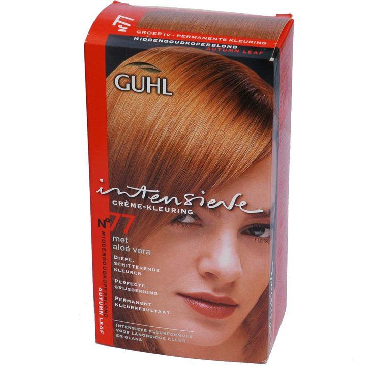Guhl intensieve crème-kleuring no 77, Midden Goud Koper Blond