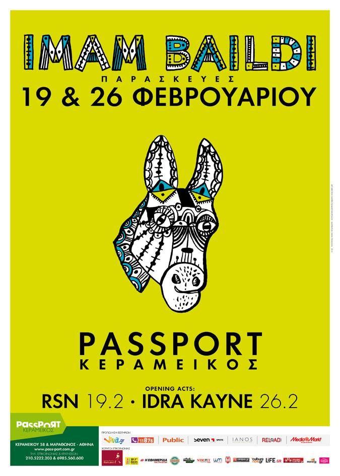 Επιστρέφουμε στην Αθήνα για δύο Παρασκευές!  Back in Athens! Two nights at Passport Kerameikos!