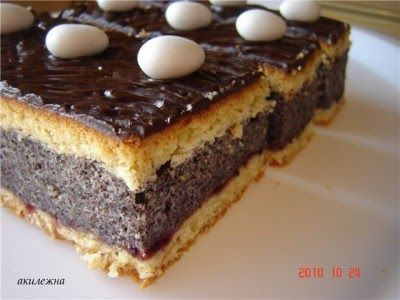 Для любителей мака. Предлагаю свой домашний рецепт пирожного Песочное тесто с маковой начинкой. Набор продуктов: 400-500 г...
