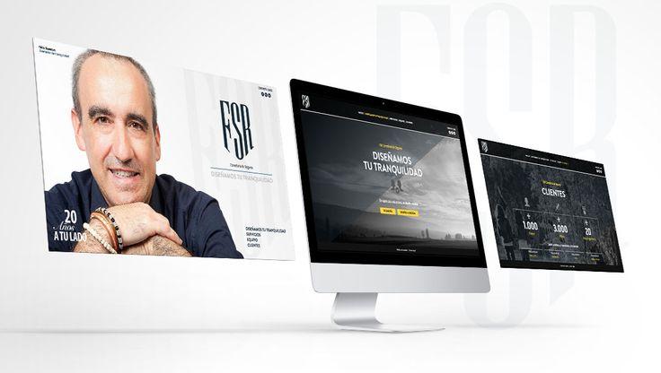 Nueva #Web diseñada en YOU para la Correduría Félix Suescun!!