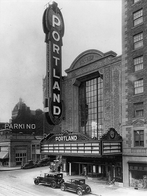 Paramount theater, probably 1928  Once again, it is the Portland Theatre