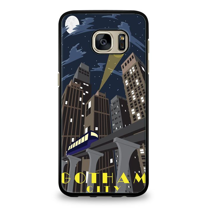 Gotham Batman City Samsung Galaxy S7 Edge Case | yukitacase.com