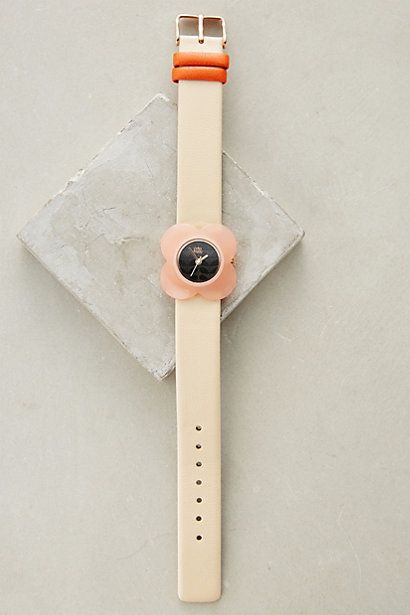 Blushed Poppy Watch #anthropologie