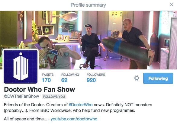 It was heavier than it looks... https://www.youtube.com/watch?v=ZVtiq5SIOL0… #doctorwho #dwfanshow @DWTheFanShow #lovemyjob