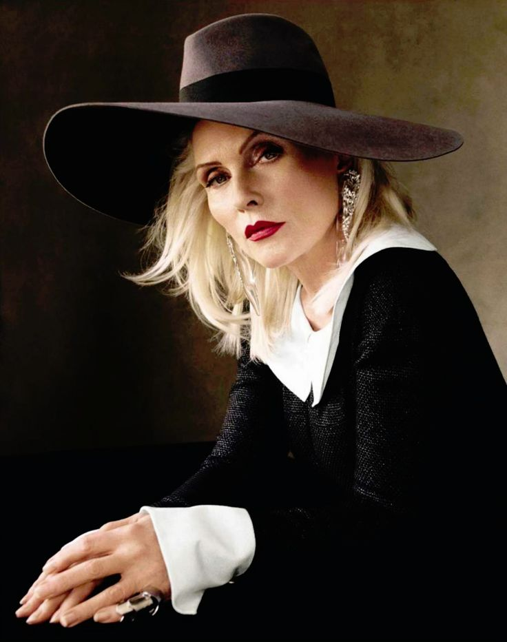 Debbie Harry by Victor Demarchelier for Vogue Spain September 2013
