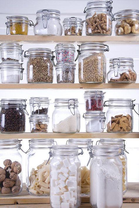 17 melhores ideias sobre organizar a despensa de alimentos no ...