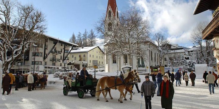 Horse-drawn carriage rides Seefeld - Austria | Christmas ...