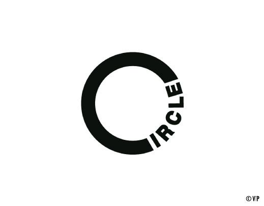 #Circle #logo #verbicon