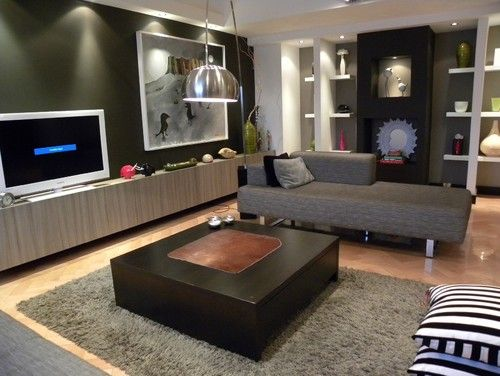 Living Room Tv Shelves Design, Pictures, Remodel, Decor and Ideas - page 9
