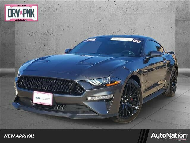 Exterior · twister orange · grabber yellow · rapid red · velocity blue · shadow black · antimatter blue · iconic silver · carbonized gray. 2020 Ford Mustang Gt Premium 2020 Ford Mustang Gt Premium Rear Wheel Drive 5l V8 32v Automatic 2085 Miles Ford Mustang Gt Ford Mustang Mustang Gt