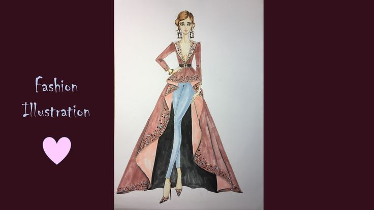 Fashion Illustration / Zuhair Murad / Spring 2017 Couture