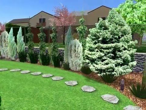 Návrh zahrady v Blatě u Pardubic