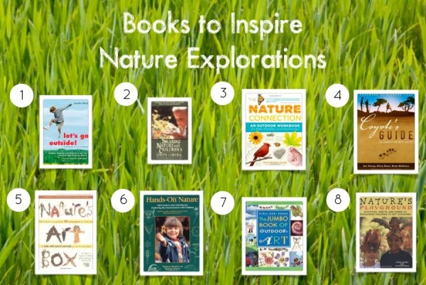 8 books to explore nature with kids: Inspire Nature, Environmental Education, Kids Books, Natural Playscapes, Outdoor Learning, Exploring Nature, Classroom Ideas, Nature Explorations