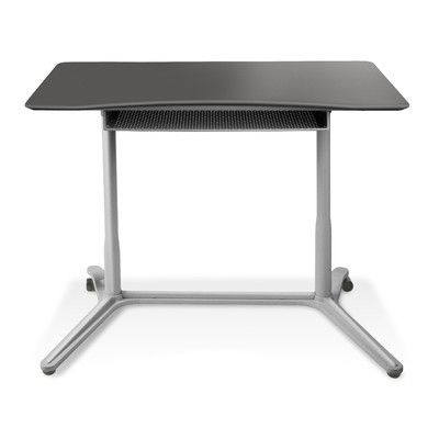 Cherry Height Adjustable Standing Desk Jesper Office Drafting Desks Home  Office Furniture