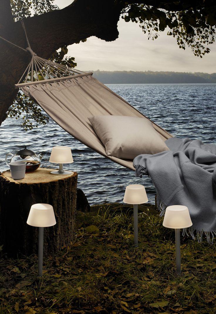 Find de flotte sunlight lamper til terrassen på inspiration #inspirationdk #outdoor #udendørs
